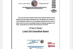 UWUA 223 Membership Cards