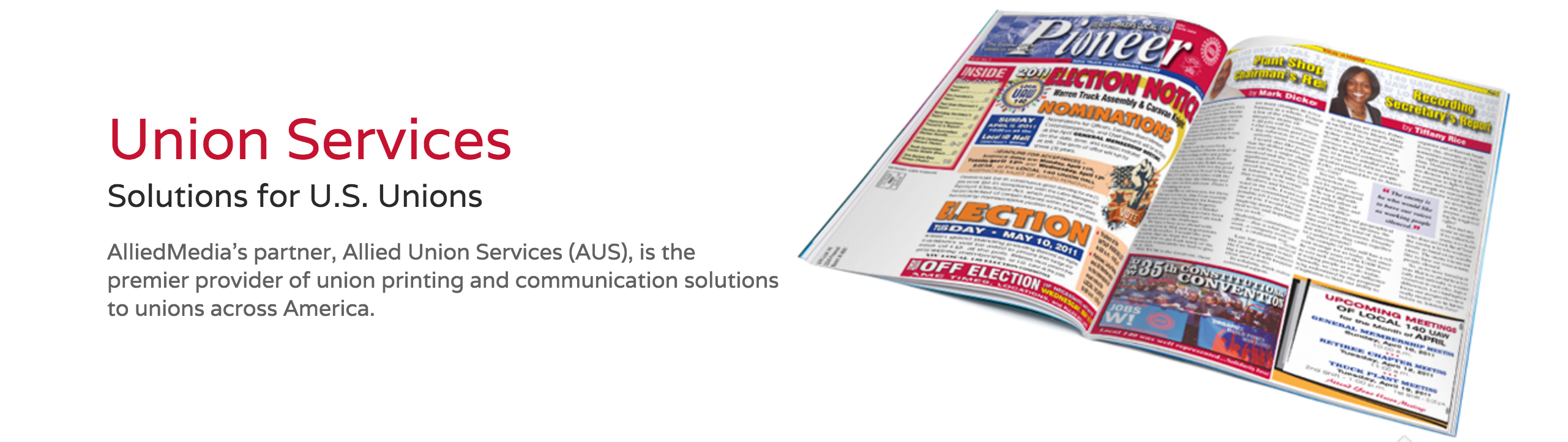 Allied Union Services is our union print provider