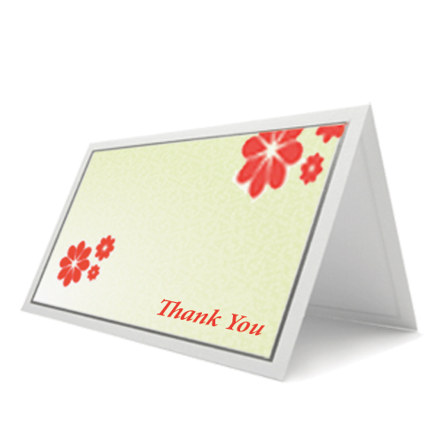Full color thank you cards